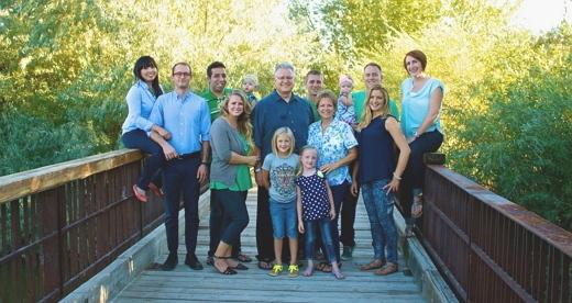 Jana & Chuck Family