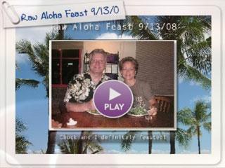 Raw Aloha Feast in Honolulu 9/13/08